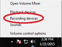 rightclick speaker-recording devices